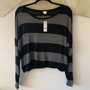 ✨ 3 for $20✨ NWT Garage Striped Long Sleeve
